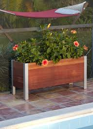 Wooden Planter With Trellis Garden Planters Cheap Home Outdoor Decoration