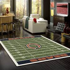 chicago bears rug team home field u2013 fan cave rugs