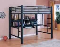Bunk Beds Metal Frame Metal Bunk Bed With Desk Foter
