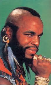 mr t feather earrings smiling mr t ba baracus