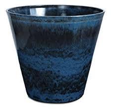 amazon com listo ceramastone resin pottery planter 19 inch
