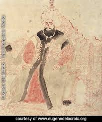 Mehmet Ottoman Eugene Delacroix The Complete Works Mehmet Ii Sultan Of The