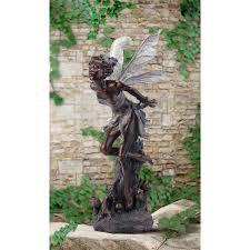 kissing fairy napco marketing corporation outdoor statuary statues