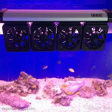 best fan for aquarium bup high quality 4 rows flexible aquarium fan system