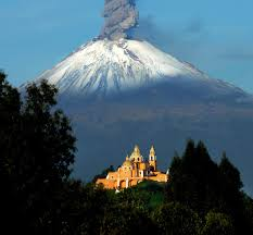 forces of nature mexico popocatepetl new volcano active color