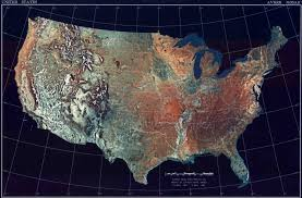 us relief map map usa topographic major tourist attractions maps