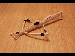 how to make a mini crossbow this is an easy way to make a mini