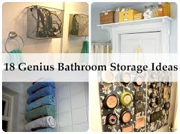 bathroom fascinating diy small bathroom storage hacks diy small