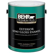 behr premium plus 1 gal ultra pure white semi gloss enamel