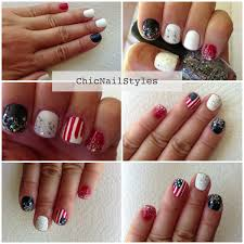 flag day inspired nailart with easy tutorial chic nail styles
