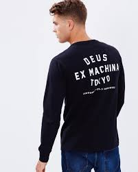 tokyo ls new edition tee by deus ex machina online the iconic