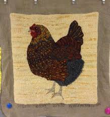 Chicken Rug Jennifer Pelton U0027 S Chicken Rug A Doodle Do Pinterest