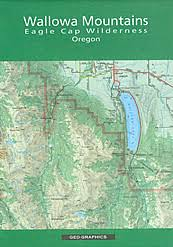 map of oregon mountains wallowa mountains eagle cap wilderness oregon map in the discover