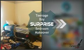 teenage boy surprise bedroom makeover reveal youtube