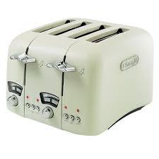 Cream 4 Slice Toaster Delonghi Ct04c Toaster Elf International Ltd