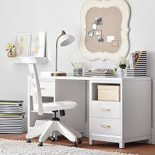 rowan cubby u0026 drawer storage desk pbteen