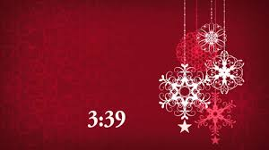 free christmas themed countdown video for worship youtube