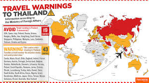 travel warnings images Infographic travel warnings to thailand prachatai english jpg