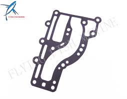 outboard engine t15 04010002 exhaust outer cover gasket for parsun