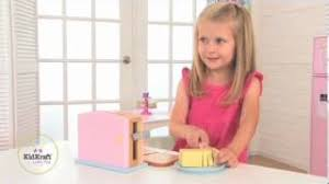 Kidkraft Pastel Toaster Set Best Kidkraft Espresso Wooden Coffee Set With 6 Pieces Only 16 79