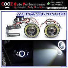 3 inch fog light kit 3 inch projector led fog lights with cob led halo angel eyes rings