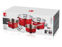 bergners bridal registry dazzle 7pcs cookware set induction