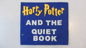 harry potter inspired quiet book pattern