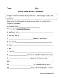 identifying clauses in complex sentences worksheet active