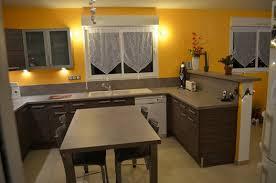 plan de travail separation cuisine sejour ambiance cuisine meubles contarin