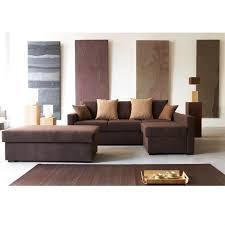 canapé d angle marron chocolat canape d angle convertible chocolat maison design hosnya com