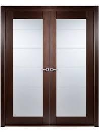 wenge frosted center glass wood modern interior door 275 wenge doors exterior