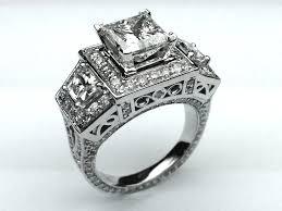 engagement settings setting princess cut diamonds in prongs cut rate diamonds