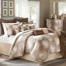 Tan Comforter 10 Piece Queen Comforter Set
