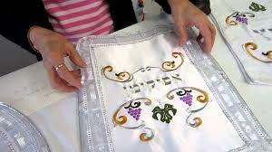 afikomen cover three set satin afikomen matzah cover and towel set