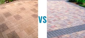 Concrete Patio Vs Pavers Sted Concrete Vs Pavers Which Offers The Best Value For Money