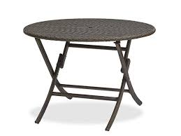 folding patio dining table pleasing round folding patio table