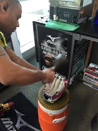 get baseball softball ready with mizuno u0027s glove steaming week at