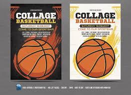 basketball c brochure template basketball flyer template by designworkz on creativemarket