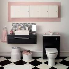 Black And Pink Bathroom Ideas Black And Pink Paris Bathroom Shower Curtain And Pink Black And