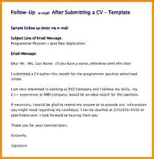 resume through email sample sending resume through email examples