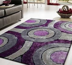 contemporary purple rugs ottoman rug ideas Modern Purple Rugs