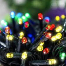zitrades 200 led 20 65ft rgb fairy solar power led string lights