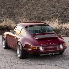 porsche singer car customized oxblood porsche 911 airows