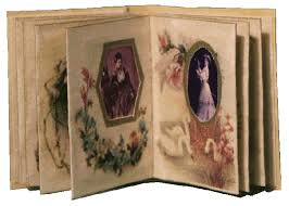 Victorian Photo Album Dolls House Albums