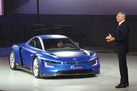 volkswagen xl1 ducati powered volkswagen xl sport revealed in paris auto express