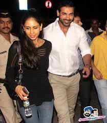 john abraham house stars spotted 2015 john abraham with his wife priya runchal at