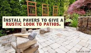Patio Paver Installation Instructions by Installing Patio Pavers