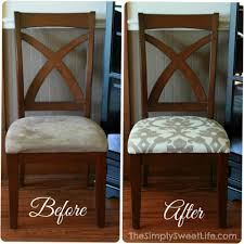 how to recover dining room chairs how to reupholster a dining room