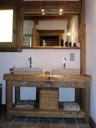 meuble de chambre de bain meuble vasque salle de bain rustique recherche sd bain