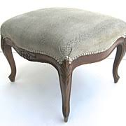 French Style Ottoman by Antiques Louis Xv